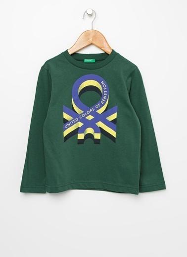 Benetton Tişört Yeşil
